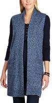 Chaps Women's Open-Front Sweater Vest