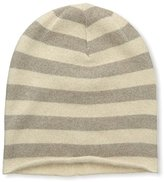 Portolano Women's Knit Hat, Beige/Nile Brown