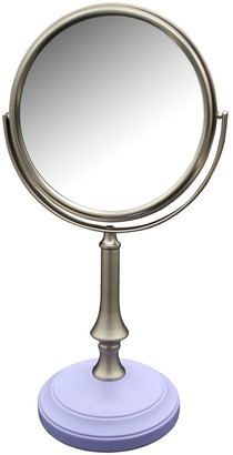 Elegant Home Fashions Simplicity Freestanding Magnifying Bath Makeup Mirror