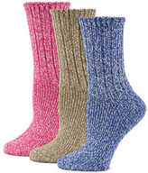 Sperry Three-Pack Ragg Crew Socks
