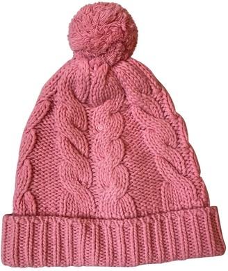 Prada Pink Wool Hats