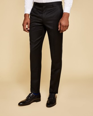 Ted Baker Wool And Mohair Dinner Suit Trousers