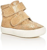 Old Soles Girls' Metallic Snake Embossed Space Shoe High Top Sneakers - Walker