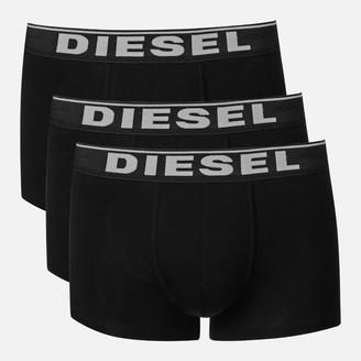 Diesel Men's Damien Three Pack Boxer Shorts - Black - S
