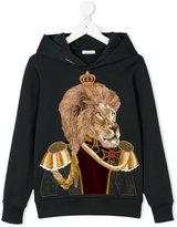 Dolce & Gabbana lion head hoodie