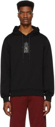 Dolce & Gabbana Black Logo Patch Hoodie