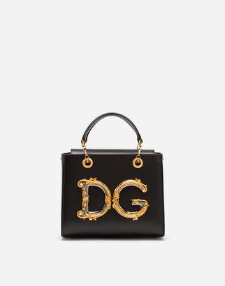Dolce & Gabbana Large Girls Bag In Calfskin