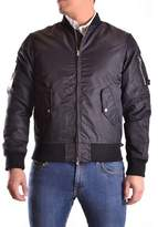 Meltin Pot Men's Black Polyamide Outerwear Jacket.