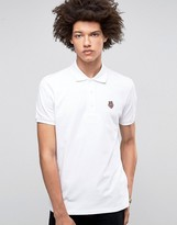Love Moschino Chest Logo Polo Shirt