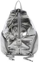 T-Shirt & Jeans Metallic Zip Backpack