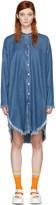 Acne Studios Blue Denim Gracie Dress