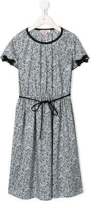 Familiar Floral Printed Day Dress