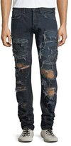 PRPS Demon Destroyed Slim-Straight Jeans