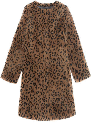 Pologeorgis The Tana Patchwork Shearling Coat