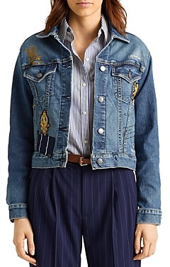 Ralph Lauren Ralph Patch Boxy Denim Jacket