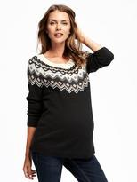 Old Navy Maternity Fair Isle Sweater