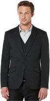 Perry Ellis Slim Ponte Knit Jacket