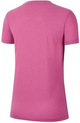 Nike NSW Prep Futura 1 T-Shirt - Fuchsia