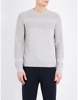Joseph Crewneck Cotton And Wool-blend Jumper