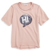 Ten Sixty Sherman Girl's Hi/bye Sequin Tee