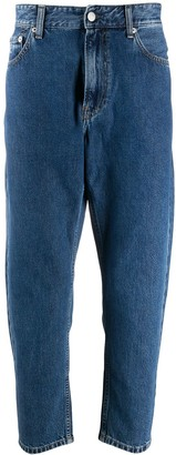 Calvin Klein Jeans Cropped Leg Jeans