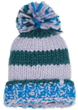 Marmot Women's Cc Girl Chunky-Knit Pom Pom Hat
