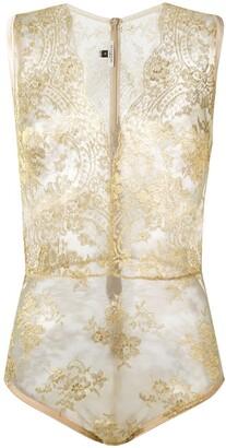 Gilda & Pearl Harlow lace body