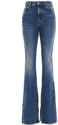 ATTICO High-Waisted Flared Jeans