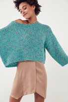 Ecote Rainbow Flecked Dolman Sweater