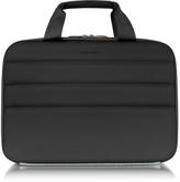 "Giorgio Fedon Ninja File 2 Black Coated Jersey 13"" Laptop Bag"