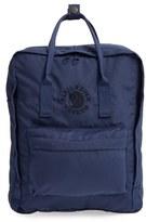 Fjäll Räven 'Re-Kanken' Water Resistant Backpack - Blue
