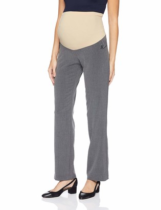 Motherhood Maternity Women's Maternity Bi-Stretch Secret Fit Belly Straight Leg Pant