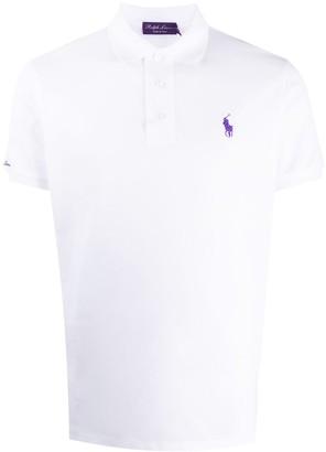 Ralph Lauren Purple Label Short-Sleeved Logo Polo Shirt
