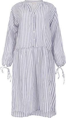 Dream Striped Drawstring Dress - Large