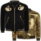Little Marc Jacobs Little Marc JacobsGirls Black & Gold Reversible Jacket