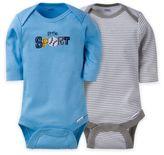 Gerber ONESIES® Brand Baby Boy Sport Long-Sleeve Bodysuit (Set of 2)