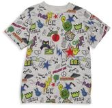 Stella McCartney Toddler's, Little Boy's & Boy's Organic Cotton Sticker Printed T-Shirt
