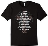 philosophy Celebrate Recovery T-Shirt Christian Cross 12 Step Guide Tee