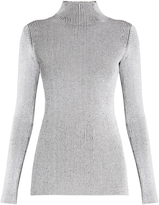 Proenza Schouler High-neck ribbed-knit sweater
