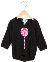 Autumn Cashmere Girls' Intarsia Wool Sweater