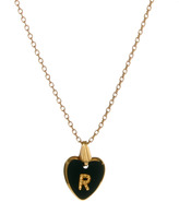 Gogo Philip R Initial Heart Necklace