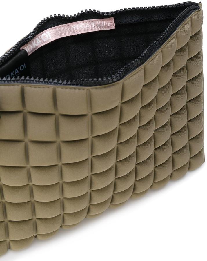 NO KA 'OI No Ka' Oi mini textured clutch bag