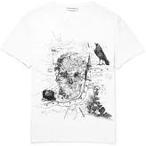 Alexander Mcqueen - London Printed Cotton-jersey T-shirt