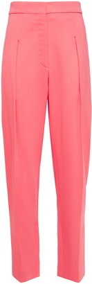 Nina Ricci Pleated Crepe Straight-leg Pants