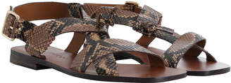 Zimmermann Cross Over Flat Sandal