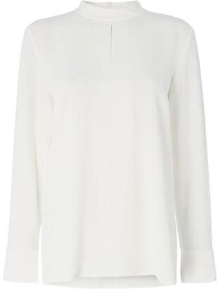 BOSS Biducla high neck blouse