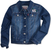 Levi's Limited Collection Patch Trucker Denim Jacket, Big Girls (7-16)
