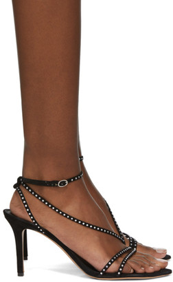 Isabel Marant Black Axee Heeled Sandals