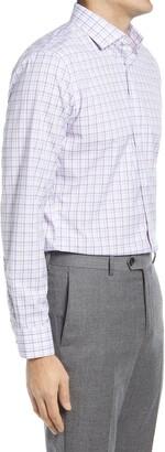 Nordstrom Traditional Fit Plaid Dress Shirt