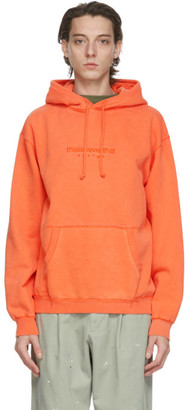 This Is Never That thisisneverthat Orange L-Logo Hoodie